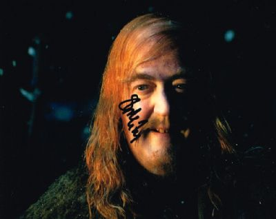 Stephen Fry Autograph Signed Photo The Hobbit